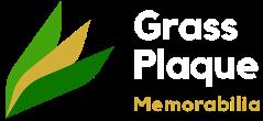 Grass Plaque Memorabilia